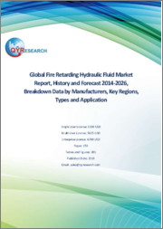 Global Fire Retarding Hydraulic Fluid Market Report, History and Forecast 2014-2026, Breakdown Data by Manufacturers, Key Regions, Types and Application