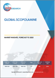 Global Scopolamine Market Insights, Forecast to 2025