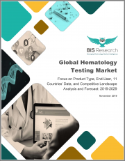 Global Hematology Testing Market: Focus on Product Type, End-User, 11 Countries' Data, and Competitive Landscape - Analysis and Forecast, 2019-2029