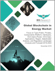 Global Blockchain in Energy Market: Focus on Type (Public, Private), Components (Platform, Hardware), End Users (Power, Oil & Gas), Applications, Region, Stakeholder Analysis, and Regulatory Landscape - Analysis and Forecast, 2019-2024