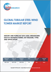 Global Tubular Steel Wind Tower Market Report, History and Forecast 2014-2025