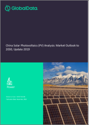 China Solar Photovoltaics (PV) Analysis: Market Outlook to 2030, Update 2019