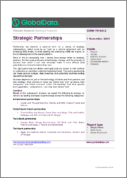 Strategic Partnerships - Thematic Research