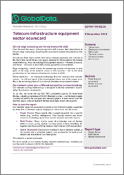 Telecom infrastructure equipment sector scorecard - Thematic Research