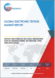 Global Electronic Textiles Market Report, History and Forecast 2014-2025, Breakdown Data by Manufacturers, Key Regions, Types and Application