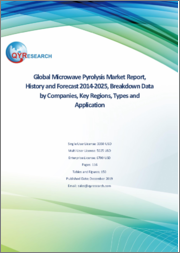 Global Microwave Pyrolysis Market Report, History and Forecast 2014-2025, Breakdown Data by Companies, Key Regions, Types and Application