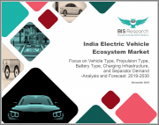 India Electric Vehicle Ecosystem Market: Focus on Vehicle Type, Propulsion Type, Battery Type, Charging Infrastructure, and Separator Demand - Analysis and Forecast, 2019-2030
