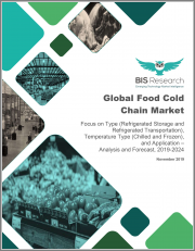 Global Food Cold Chain Market: Focus on Type (Refrigerated Storage and Refrigerated Transportation), Temperature Type (Chilled and Frozen), and Application - Analysis and Forecast, 2019-2024