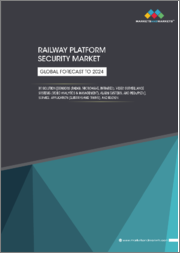 Railway Platform Security Market by Sensors (Radar, Microwave, & Infrared), Video Surveillance Systems (Camera, Video Management & Video Analytics), Alarm Systems & PSDs, Services, Applications (Subway & Trains) and Region - Global Forecast to 2024