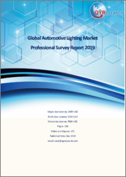 Global Automotive Lighting Market Professional Survey Report 2019