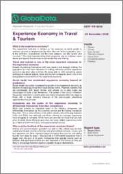 Experience Economy in Travel & Tourism - Thematic Research
