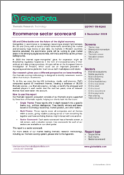Ecommerce Sector Scorecard - Thematic Research