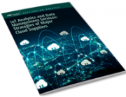 IoT Analytics and Data Management Services: Strategies of Major Cloud Suppliers