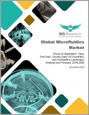 Global Microfluidics Market: Focus on Application, Type, End User, Country Data (15 Countries), and Competitive Landscape - Analysis and Forecast, 2019-2029