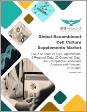 Global Recombinant Cell Culture Supplements Market: Focus on Product Type, Applications, 5 Regional Data, 23 Countries' Data, and Competitive Landscape - Analysis and Forecast, 2019-2029
