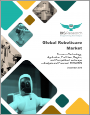 Global Roboticare Market: Focus on Technology, Application, End User, Region, and Competitive Landscape - Analysis and Forecast, 2019-2029