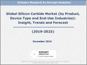 Global Silicon Carbide Market (by Product, Device Type and End-Use Industries): Insight, Trends and Forecast (2019-2023)