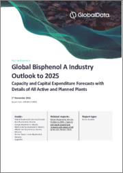Global Bisphenol A Industry Outlook to 2023 - Capacity and Capital Expenditure Forecasts with Details of All Active and Planned Plants