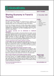 Sharing Economy in Travel & Tourism - Thematic Research