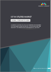 IoT in Utilities Market by Component (Platform, Solutions (Asset Monitoring and Management and CIS and Billing), Services), Application (Electricity Grid Management Water and Wastewater Management), Region - Global Forecast to 2024