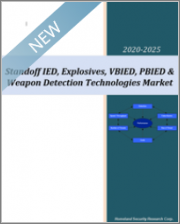 Standoff IED, Explosives, VBIED, PBIED & Weapon Detection Technologies Market 2020-2025: Artificial Intelligence, Facial Recognition & Deep Learning Technologies to Revolutionize the Industry, 65 Submarkets
