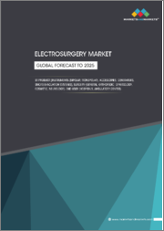 Electrosurgery Market by Product (Instruments (Bipolar, Monopolar), Accessories, Generators), Surgery (General, Orthopedic, Gynecology, Cosmetic, Neurology), End User (Hospitals, Ambulatory Center), Region - Global Forecast to 2025
