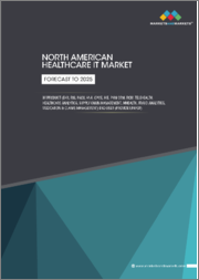North American Healthcare IT Market by Product (EHR, RIS, PACS, VNA, CPOE, HIE, PHM CRM, RCM, Telehealth, Healthcare Analytics, Supply Chain Management, mHealth, Fraud Analytics, Medication & Claims Management) End User - Forecast to 2025