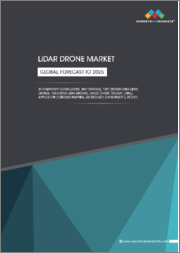 LiDAR Drone Market by Component (LiDAR Lasers, UAV Cameras), Type (Rotary-wing LiDAR Drones, Fixed-wing LiDAR Drones), Range (Short, Medium, Long), Application (Corridor Mapping, Archeology, Environment), Region - Global Forecast to 2025