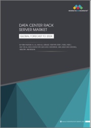 Data Center Rack Server Market by Form Factor (1U, 2U, and 4U), Service, Tier Type (Tier 1, Tier 2, Tier 3, and Tier 4), Data Center Type (Mid-Sized, Enterprise, and Large Data Centers), Industry, and Region - Global Forecast to 2024