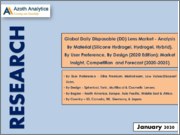 Global Daily Disposable (DD) Lens Market - Analysis By Material (Silicone Hydrogel, Hydrogel, Hybrid), By User Preference, By Design (2020 Edition): Market Insight, Competition and Forecast (2020-2025)
