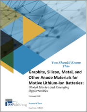 Graphite, Silicon, Metal, and Other Anode Materials for Motive Lithium-Ion Batteries: Global Market and Emerging Opportunities
