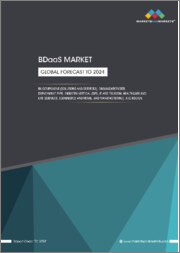 BDaaS Market by Component (Solutions and Services), Organization Size, Deployment Type, Industry Vertical (BFSI, IT and Telecom, Healthcare and Life Sciences, eCommerce and Retail, and Manufacturing), and Region - Global Forecast to 2024