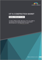 IoT in Construction Market by Offering (Hardware, Software, Services), Project Type (Commercial, Residential), Application (Remote Operations, Safety Management, Fleet Management, Predictive Maintenance, Others), and Region - Global Forecast to 2024