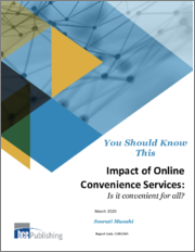 Impact of Online Convenience Services: Is it convenient for all?