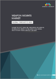 Weapon Mounts Market by Mount Type (Turret, Coaxial, Fixed, Pintle/Pedestal, RWS, Swing Arm, Monopods, Bipods, Tripods), Platform (Ground, Naval, Airborne), Mode of Operation, Weapon Compatibility, and Region - Global Forecast to 2025