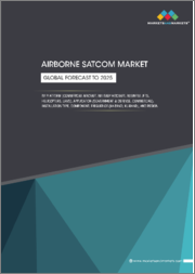 Airborne SATCOM Market by Platform (Commercial Aircraft, Military Aircraft, Business Jets, Helicopters, UAVs), Application (Government & Defense, Commercial), Installation Type, Component, Frequency (Ka-band, Ku-band), Region - Global Forecast to 2025