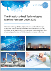 The Plastic-to-Fuel Technologies Market Forecast 2020-2030: Forecasts by Technology (Pyrolysis, Depolymerization), by Plastic Material Type, by Fuel Type, plus Analysis of Leading Regions/Countries, and Profiles of Leading Companies