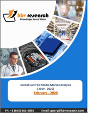 Global Contrast Media Market By Product Type By Application By Modality By Region, Industry Analysis and Forecast, 2019 - 2025