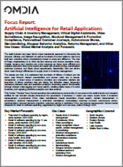 Artificial Intelligence for Retail Applications: Global Market Analysis and Forecasts