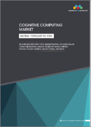 Cognitive Computing Market by Component, Deployment Mode, Business Function, Application (IVA and Chatbot and Behavioral Analysis), Technology (Human Computer Interface and Deep Learning), Industry Vertical, and Region - Global Forecast to 2025