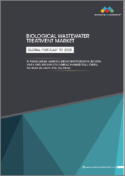 Biological Wastewater Treatment Market by Process (Aerobic, Anaerobic), End-Use Industry (Municipal, Industrial (Pulp & Paper, Meat & Poultry, Chemicals, Pharmaceuticals, Others)), and Region (NA, Europe, APAC, MEA, and SA) - Global Forecast to 2025