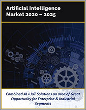 Artificial Intelligence Market by Technology, Infrastructure, Components, Devices, Solutions, and Industry Verticals 2020 - 2025