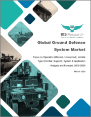 Global Ground Defense System Market: Focus on Operation (Manned, Unmanned), Vehicle Type (Combat, Support), System & Application - Analysis and Forecast, 2019-2024
