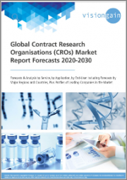 Global Contract Research Organisations (CROs) Market Report Forecasts 2020-2030: Forecasts & Analysis by Service, by Application, by End-User, including Forecasts by Major Regions and Countries, plus Profiles of Leading Companies in the Market