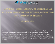 Artificial Intelligence - Transforming Telecom Network Operations, Marketing & Customer Service in 2020