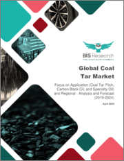 Global Coal Tar Market: Focus on Application (Coal Tar Pitch, Carbon Black Oil, and Specialty Oil) and Regional - Analysis and Forecast, 2019-2024