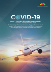 COVID-19 Impact on Airport Operations Market by Technology (Passenger Screening, Baggage Scanners, Smart Tag & RFID, E-gate & E-Kiosk, 5G infrastructure, Cybersecurity Solutions and Ground Support Equipment) and Region - Global Forecast to 2025