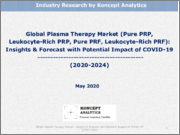 Global Plasma Therapy Market (Pure PRP, Leukocyte-Rich PRP, Pure PRF, Leukocyte-Rich PRF): Insights & Forecast with Potential Impact of COVID-19 (2020-2024)