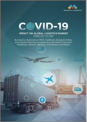 COVID-19 Impact on Logistics & Supply Chain Industry Market by Industry Verticals (Automotive, FMCG, Healthcare, Energy & Utilities,Industrial Machinery & Equipment), Mode of Transport, Region - Global Forecast to 2021
