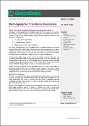 Demographic Trends in Insurance - Thematic Research